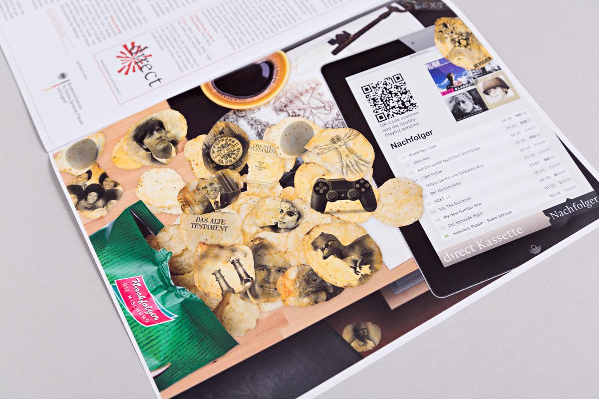 Illustration Schreibtisch, Ausgabe 1/2013