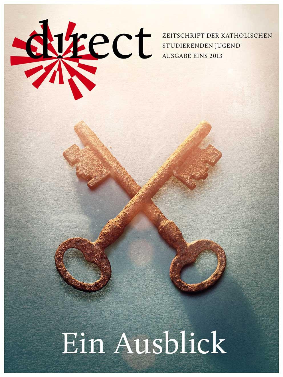 Cover Ausgabe Eins 2013