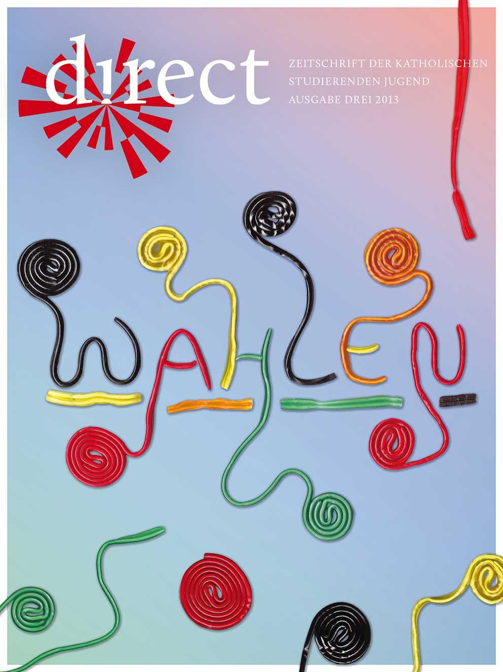 Cover Ausgabe Drei 2013